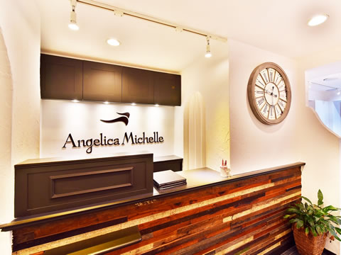 Angelica Michelle渋谷店のロゴ